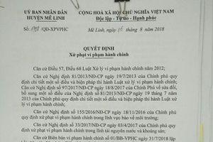 Mê Linh (Hà Nội) – Bài 4: Nhà máy gạch Hoàng Kim bị xử phạt hơn 45 triệu đồng vì vi phạm luật bảo vệ môi trường