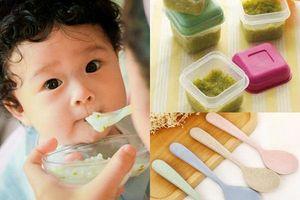 Điểm danh những đồ dùng cần thiết cho bé ăn dặm theo gợi ý của chuyên gia dinh dưỡng