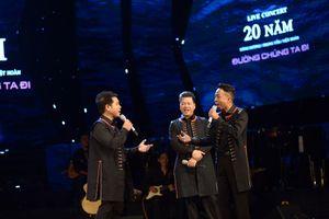 Đăng Dương, Trọng Tấn, Việt Hoàn thăng hoa trong show 20 năm ca hát