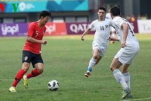 Vượt qua Olympic Uzbekistan, Olympic Hàn Quốc thẳng tiến bán kết