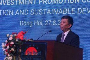 Bốn cam kết của lãnh đạo tỉnh Quảng Bình với nhà đầu tư