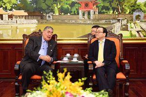 Thúc đẩy mạnh mẽ các hoạt động hợp tác giữa hai Đảng, hai nước Việt Nam và Dominica