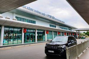 Cần 2.200 tỷ đồng để nâng công suất Cảng hàng không Phú Bài