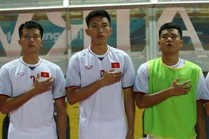 Đấu U23 Hàn Quốc, U23 Việt Nam mất Văn Hậu vì thẻ phạt
