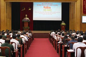 Triển khai 9 chuyên đề tuyên truyền kiến thức quốc phòng an ninh cho nhân dân