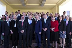Australia: Nội các mới của tân Thủ tướng Scott Morrison nhậm chức