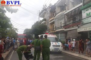 Thành phố Hồ Chí Minh: Cháy cư xá 3 tầng, 1 người chết