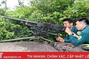 Lực lượng dân quân cơ động Xuân Lam diễn tập sẵn sàng chiến đấu