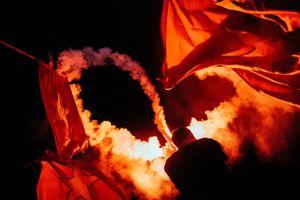 Những khoảnh khắc ấn tượng đêm mừng chiến thắng Olympic Việt Nam