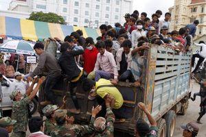 Thái Lan bắt giữ hơn 1.000 lao động trái phép
