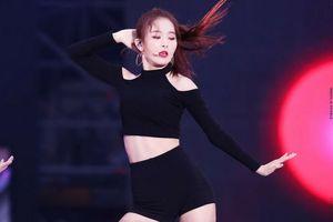Seulgi (Red Velvet) và thời trang đen kinh điển: Vẻ quyến rũ bùng nổ không thể chối từ