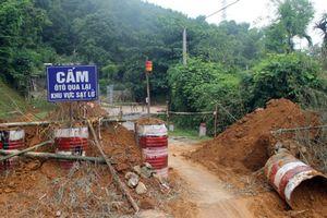 Cảnh báo sạt lở đất tại Hòa Bình và Sơn La