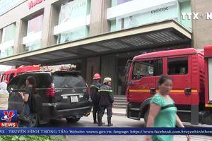 Cháy tại Vincom Center trên đường Đồng Khởi, TP.Hồ Chí Minh