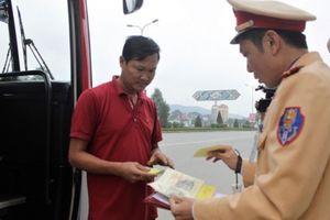 Lào Cai: 'Giăng lưới' xử nghiêm xe khách vi phạm giao thông