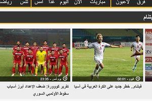 Olympic Việt Nam là mối đe dọa mới với nền bóng đá Arab?