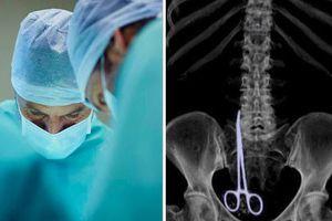 Quên kéo trong bụng bệnh nhân, bác sĩ kết luận ung thư