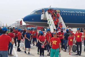 Hàng trăm CĐV bay đến Indonesia cổ vũ cho Olympic Việt Nam