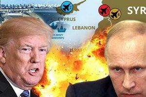 Nga chặn Tomahawk Mỹ đánh Syria, ngăn tiêm kích Israel đánh Iran