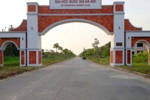 Dự án khu đô thị đại học nghìn tỉ 'không chịu lớn' ở Hà Nội