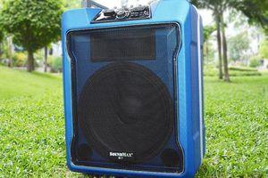 Loa di động SoundMax M-7 với nhiều tính năng cơ động