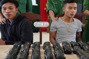 Bắt quả tang vụ vận chuyển trái phép hơn 65.000 viên ma túy tổng hợp