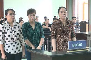 Các bị cáo nguyên cán bộ Trường Chính trị Phú Yên lãnh án