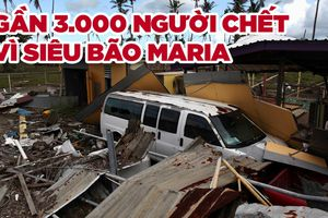 Số người chết vì siêu bão Maria gấp 50 lần ước tính ở lãnh thổ Mỹ