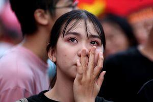 Cảm xúc vui buồn trong trận đấu Olympic Việt Nam - Olympic Hàn Quốc