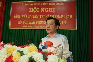 Bình Thuận tổng kết 20 năm thi hành Pháp lệnh BĐBP