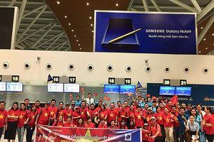 Fan bóng đá Đà Nẵng bay thẳng qua Indonesia cổ vũ đội Olympic Việt Nam