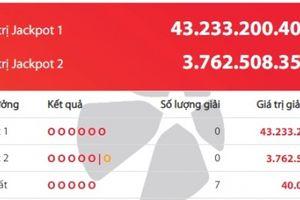 Xổ số Vietlott giải Jackpot: Giải thưởng hơn 43 tỷ đồng 'nổ' ở địa phương nào?