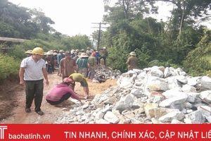 Vũ Quang xây dựng 23 khu dân cư kiểu mẫu, 289 vườn mẫu