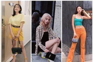 Giảm 9kg, Kaity 'lên đồ' đẹp xuất sắc - Phí Phương Anh khoe street style chất lừ với tóc vàng hoe