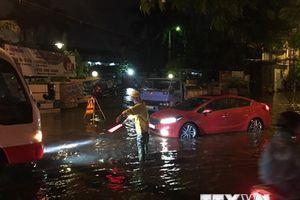 Hải Phòng: Mưa lớn kéo dài 3 tiếng gây ngập lụt nghiêm trọng