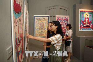 Triển lãm 'Tranh dân gian Việt Nam' tại Hoàng thành Thăng Long