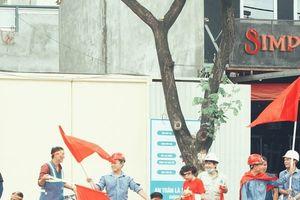 Đà Nẵng rộn ràng trong ngày tuyển Việt Nam 'so tài' Hàn Quốc
