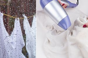Mẹo giúp quần áo nhanh khô, tránh nhiều dịch bệnh trong những ngày mưa gió kéo dài