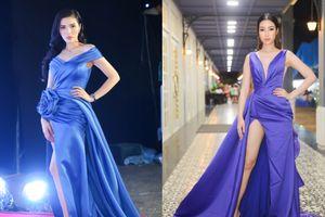 Hoa hậu Kỳ Duyên - Đỗ Mỹ Linh đọ chân dài miên man đẹp nghẹt thở trên cùng thảm đỏ
