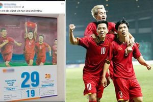 Xuất hiện tờ lịch tiên tri ngày 29/8, Olympic Việt Nam đánh bại Olympic Hàn Quốc hiên ngang vào chung kết ASIAD 2018?