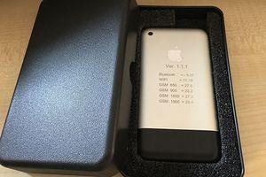 iPhone đời đầu bản siêu hiếm được rao bán với giá hàng chục nghìn USD