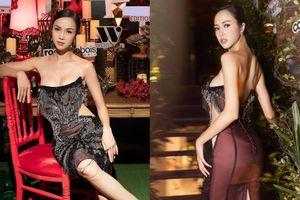 Vũ Ngọc Anh diện áo cúp ngực khoe triệt để vòng 1 silicon