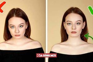 12 sai lầm bạn nên tránh để nhìn xinh đẹp và tuyệt vời hơn khi chụp ảnh