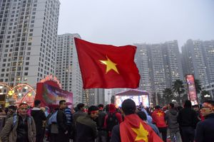 Cuồng nhiệt 'Làng Times' với U23 Việt Nam