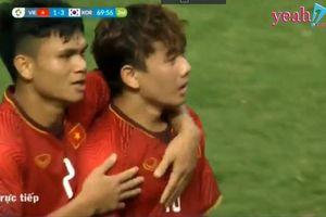 Minh Vương - Cầu thủ vừa có pha sút phạt đẹp mắt ghi bàn danh dự cho đội tuyển Olympic Việt Nam