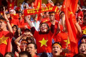 Sôi động không khí trước trận bán kết giữa Olympic Việt Nam - Hàn Quốc