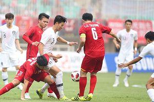 Olympic Việt Nam thua Olympic Hàn Quốc 1 - 3, sẽ chơi tranh huy chương đồng chiều 1/9
