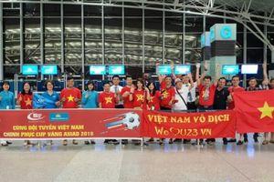 Cùng Blue Sky cổ vũ đội tuyển Việt Nam trong trận bán kết Asiad 2018