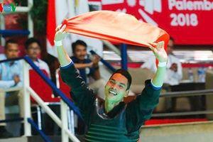Trần Đình Nam giành HCV thứ 4 cho Thể thao Việt Nam ở môn Pencak Silat