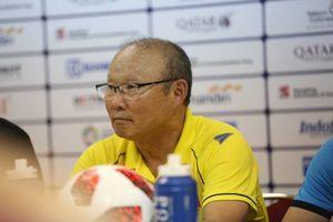 HLV Park Hang Seo: 'Olympic Việt Nam đã nỗ lực hết mình trước Olympic Hàn Quốc'