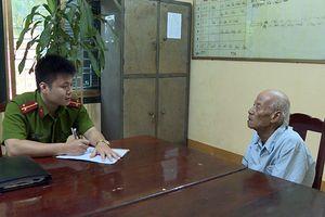 Khởi tố cụ ông 88 tuổi về hành vi lừa đảo chiếm đoạt tài sản